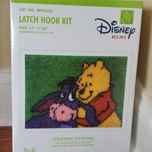 Disney home latch hook kit Pooh collection